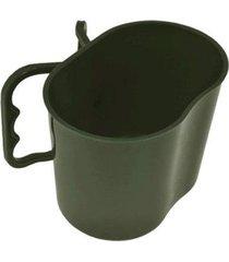 caneca de polipropileno 500ml bélica 449 verde oliva