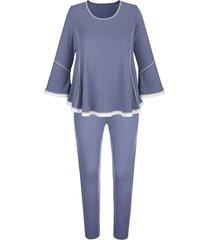 pyjama blue moon rookblauw