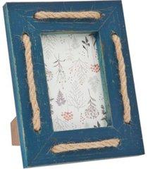 "philip whitney blue wash strips frame - 4"" x 6"""