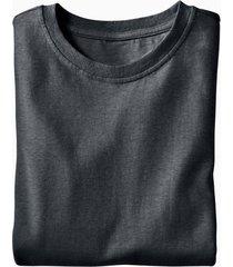 jersey t-shirt uit een mix van hennep en bio-katoen, zwart l