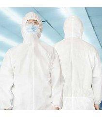 traje de protección desechables médicos seguridad traje de protección anti bacterias