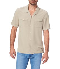 men's paige brookside short sleeve button-up camp shirt