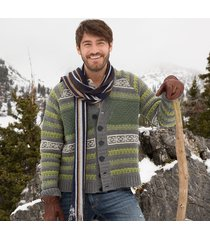 mens patterned sweater
