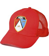 gorra pappo roja fight for your right
