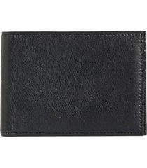 bosca id passcase wallet in black nappa vitello at nordstrom