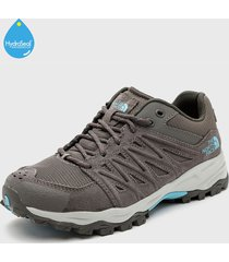 zapatilla w truckee wp gris the north face