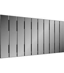 painel decorativo barra vertical preto dalla costa - preto - dafiti