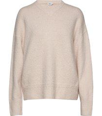 beatrice sweater stickad tröja beige filippa k