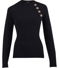 balmain fitted sweater
