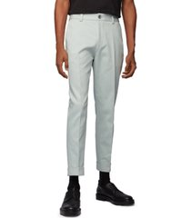 boss men's relaxed-fit trousers
