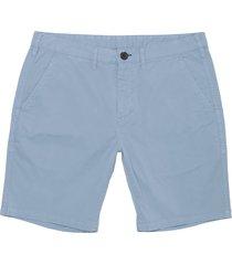 paul smith light blue stretch pima-cotton shorts pupd-035r-519