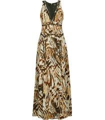 lange jurk marciano sandscape maxi dress