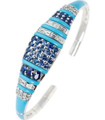 oui blue sapphire bracelet