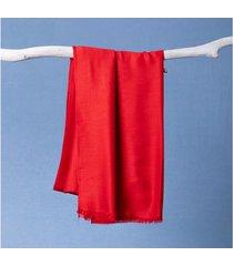 lenço laíze cor: vermelho - tamanho: único