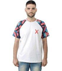 camiseta mxc brasil x raglan masculina - masculino