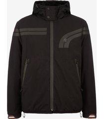techno pvc jacket black 48