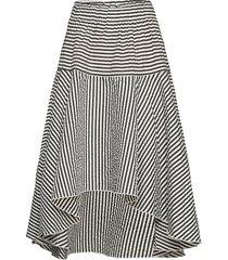 bali skirt knälång kjol grå lollys laundry