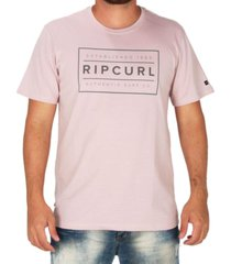 camiseta rip curl stretched out rosa g rosa - rosa - masculino - dafiti