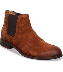 biabyron leather chelsea stövletter chelsea boot brun bianco