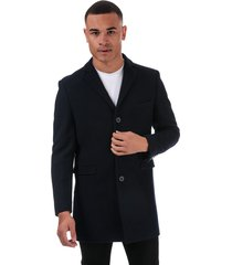mens 3 button crombie overcoat
