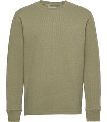 chidi t-shirt ls 11597 t-shirts long-sleeved groen samsøe samsøe