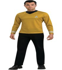 buyseasons men's star trek movie gold tone shirt costume