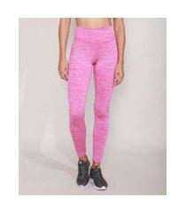 calça legging esportiva ace rosa