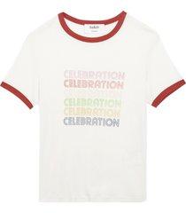 ba&sh t-shirt tenley ecru