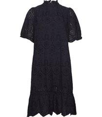 aleksasz ss dress knälång klänning svart saint tropez