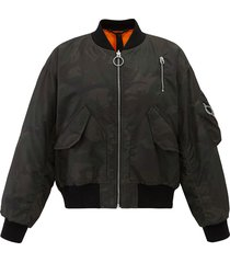 194181-363 | army bomber jacket | camo green - s