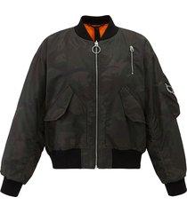 194181-363 | army bomber jacket | camo green - l