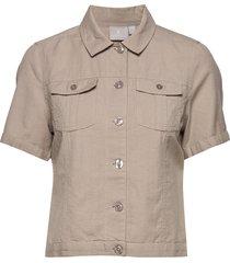 jacket jeansjacka denimjacka beige brandtex
