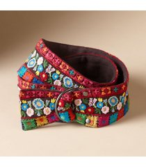 women's brilliant needlework belt