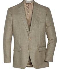 lauren by ralph lauren classic fit sport coat taupe tic