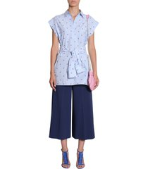 boutique moschino cotton poplin shirt