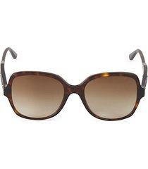 avana 54mm round sunglasses