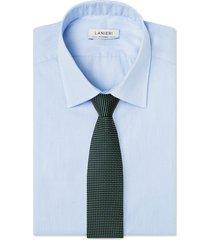 cravatta su misura, lanieri, punto verde, quattro stagioni | lanieri