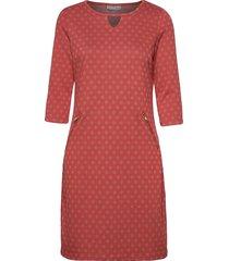 frhidotly 1 dress knälång klänning rosa fransa