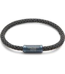 tateossian men's rubber bracelet
