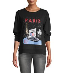 rolls royce paris graphic sweatshirt
