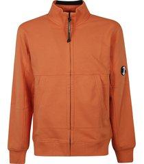 c.p. company diagonal fleece jacket