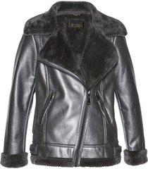 giacca di montone sintetico (grigio) - bpc selection premium