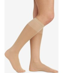 berkshire sheer support knee highs hosiery 6361