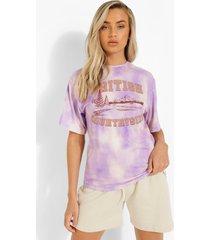 tie dye countryside t-shirt, lilac