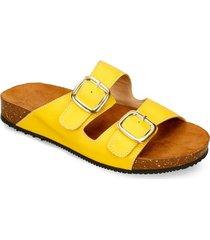 sandalias amarillo bata iwa mujer