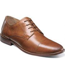 zapato montinaro cap toe oxford cognac florsheim