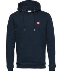 piece hoodie hoodie trui blauw les deux