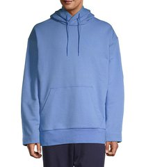 hooded stretch-cotton sweatshirt