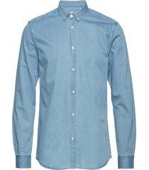 walther overhemd casual blauw minimum