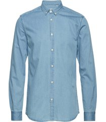 walther overhemd casual blauw minimum